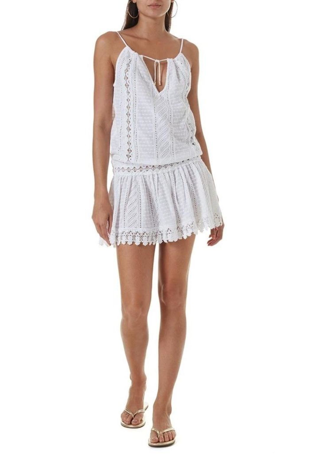 Melissa Odabash Chelsea Short Dress - Front Cropped Image