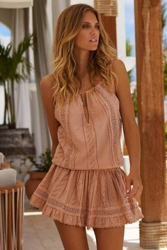 Shoptiques Product: Chelsea Tan Short Dress