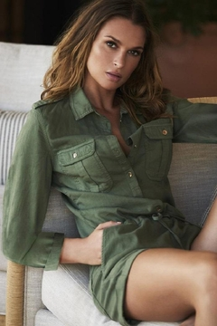Shoptiques Product:  Honour Olive Playsuit