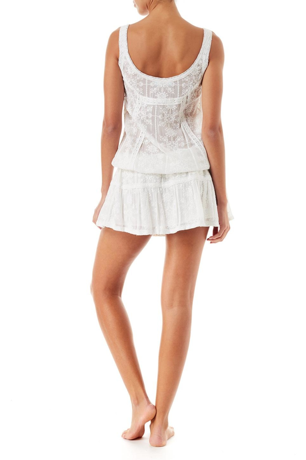 Melissa Odabash Jas Short Dress - Side Cropped Image