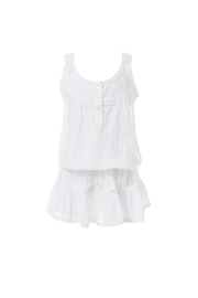 Melissa Odabash Jaz Dress White - Product Mini Image