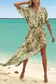 Melissa Odabash Karly Long Kaftan - Product Mini Image