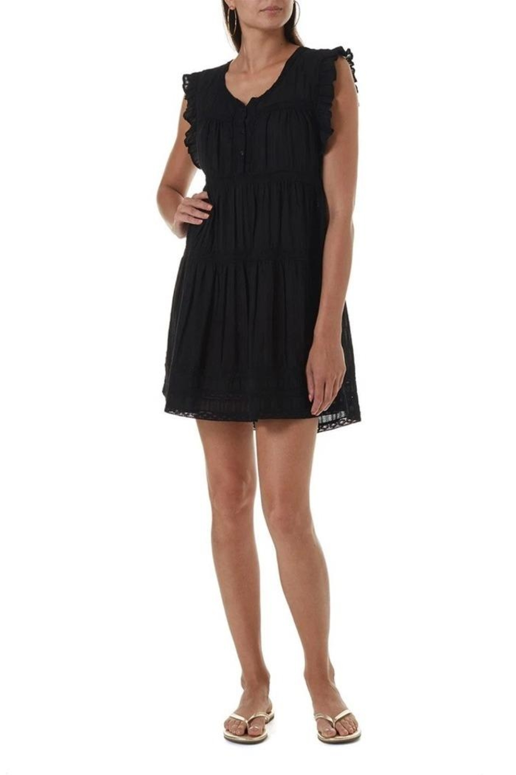 Melissa Odabash Rebekah Short Dress - Front Cropped Image