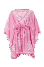 Melissa Odabash Rose-White Baby-Sharize Kaftan - Product Mini Image