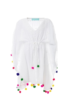 Melissa Odabash Sharize Kaftan White/multi - Alternate List Image