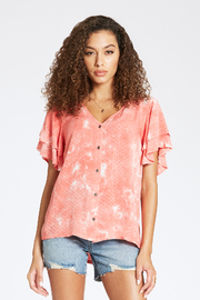 Dear john  Mella Tie-Dye Top - Product Mini Image