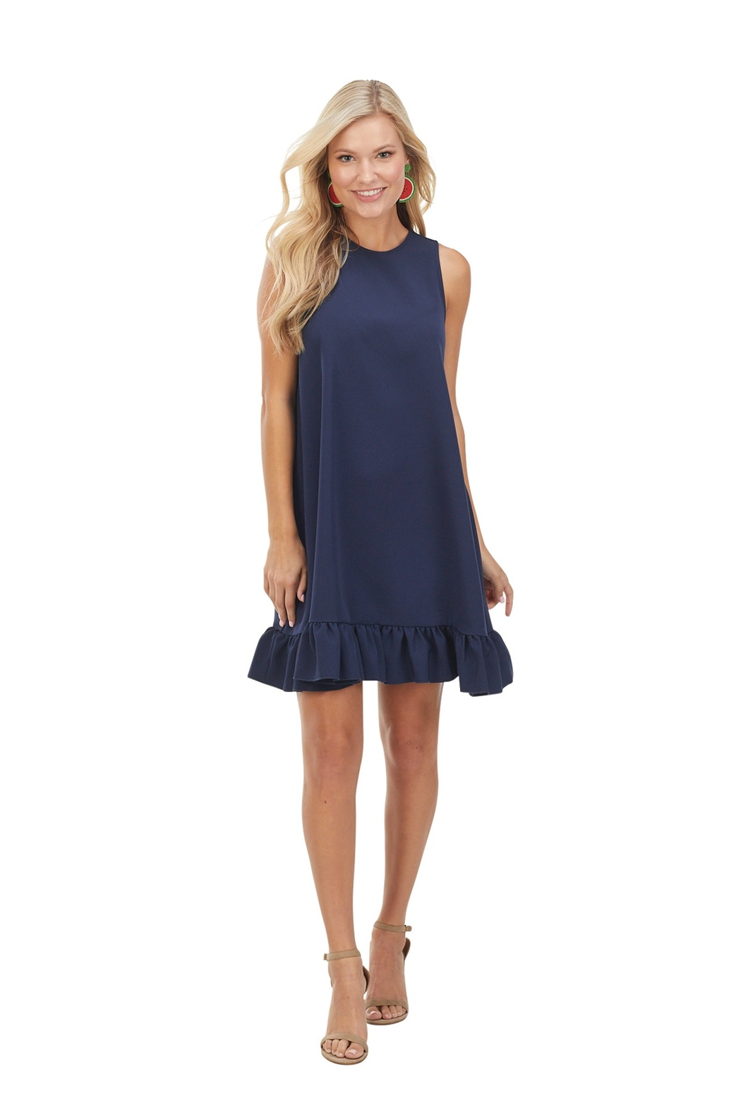 Mud Pie  Mellie Swing Dress - Front Cropped Image