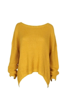 Shoptiques Product: Mellow Yellow Pullover
