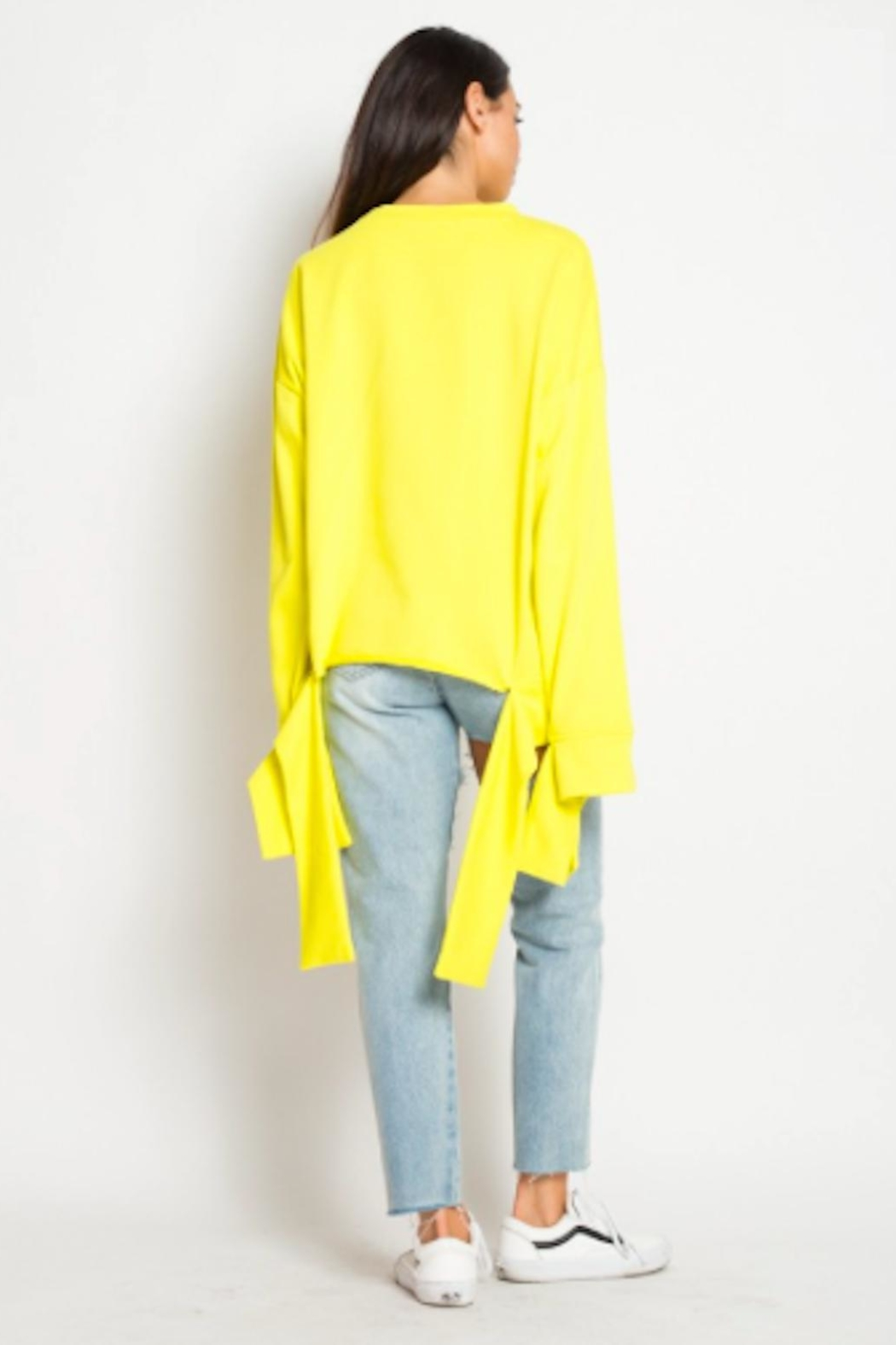 TIMELESS Mellow Yellow Sweater - Front Full Image