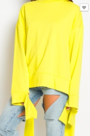 TIMELESS Mellow Yellow Sweater - Side cropped