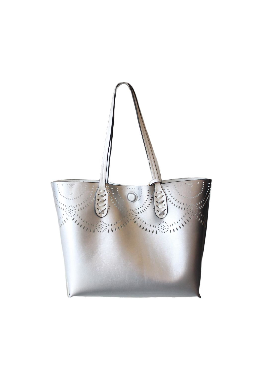 Mellow World Lexi Reversible Tote Bag - Side Cropped Image