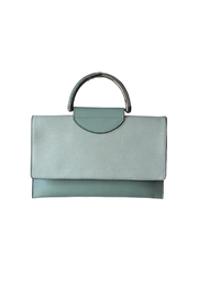 Mellow World Nancy Clutch Teal Bag - Product Mini Image