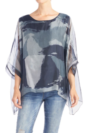 CoCo and Carmen  MELODY BLOCK PRINT CHIFFON TUNIC - Product Mini Image