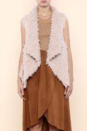 Melody Faux Fur Vest - Product Mini Image