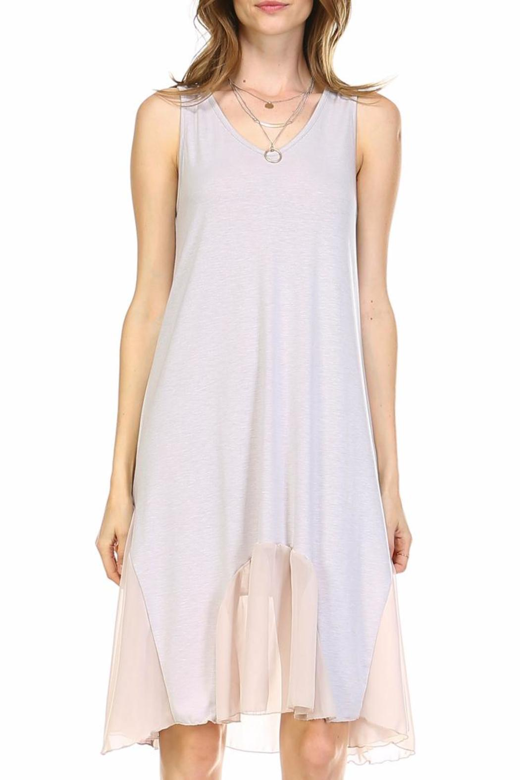 Melody Flowy Slip Dress - Front Cropped Image