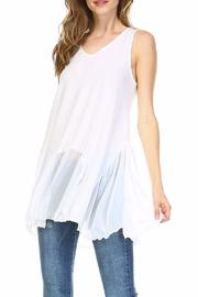 Melody Flowy Top Extender - Front cropped
