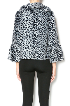 Melody Leopard Faux Fur Jacket - Alternate List Image