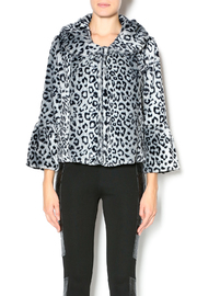 Melody Leopard Faux Fur Jacket - Product Mini Image