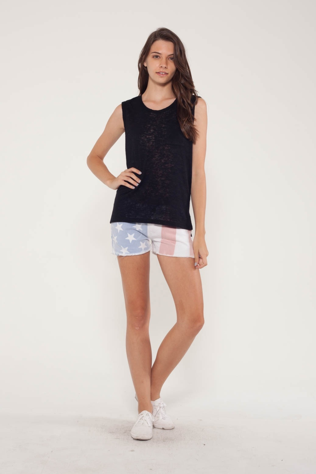 Comune Melrose Core Muscle Tee w Pkt - Main Image