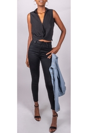 Final Touch Melrose Twist-Tank Black - Front full body