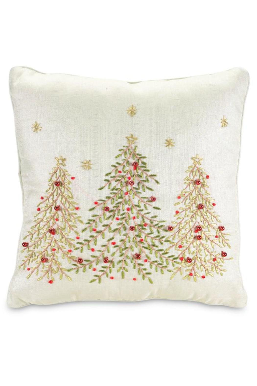 Melrose International Christmas Tree Pillow from Virginia by Mary ...