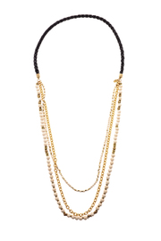 Melvin Jewelry Black Layer Necklace - Product Mini Image