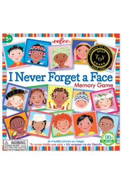 Eeboo Memory and Matching Game I Never Forget A Face - Product List Image