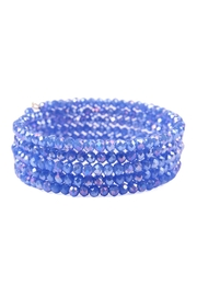Riah Fashion Memory-Wire Beads-Bracelet - Product Mini Image