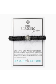 My Saint My Hero Men One-Blessing Bracelet - Product Mini Image
