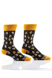 Giftcraft Inc.  Men's Graphic Crew Sock - Front cropped
