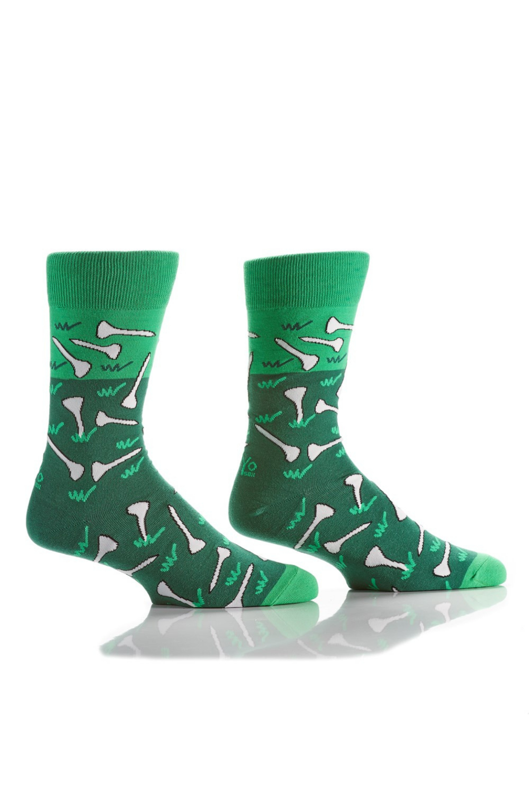 Giftcraft Inc.  Men's Graphic Crew Sock - Front Cropped Image