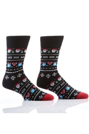 Yo Socks Men's Santa Socks - Product Mini Image