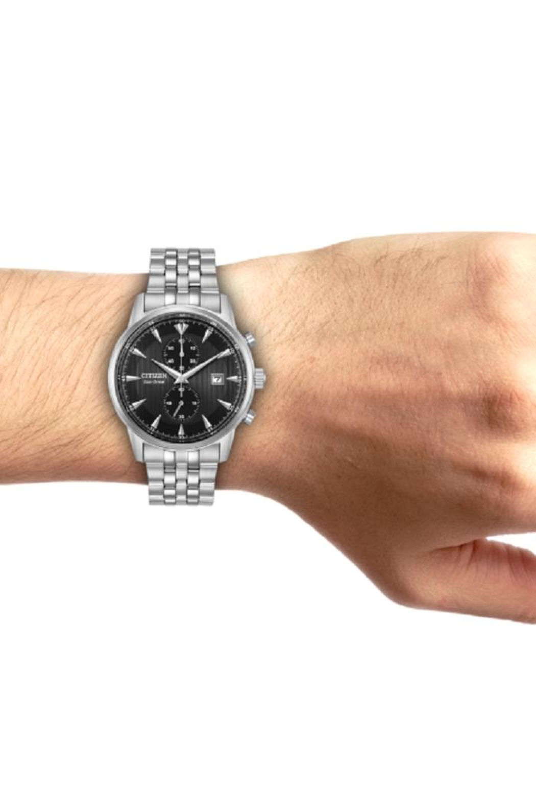 Citizen Watches Men's Stainless Watch - Back Cropped Image