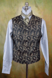 Old Frontier Clothing Mens Brocade Vest - Product Mini Image