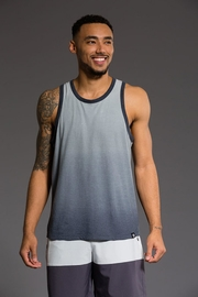 Onzie Mens Ombre Tank - Back cropped