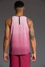 Onzie Mens Ombre Tank - Front full body