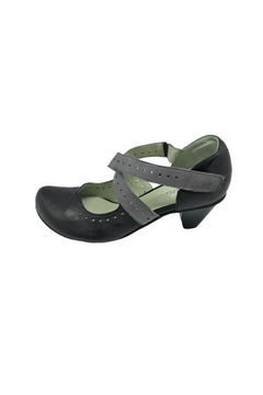 Mentha Leather Cross-Strap Pump - Product List Image