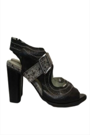 Mentha Leather Heel - Front cropped