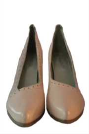 Mentha Leather Heels - Product Mini Image