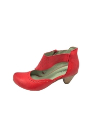 Mentha Red Sassy Pumps - Product Mini Image