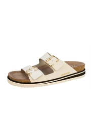 Mephisto White Slide Sandal - Product Mini Image