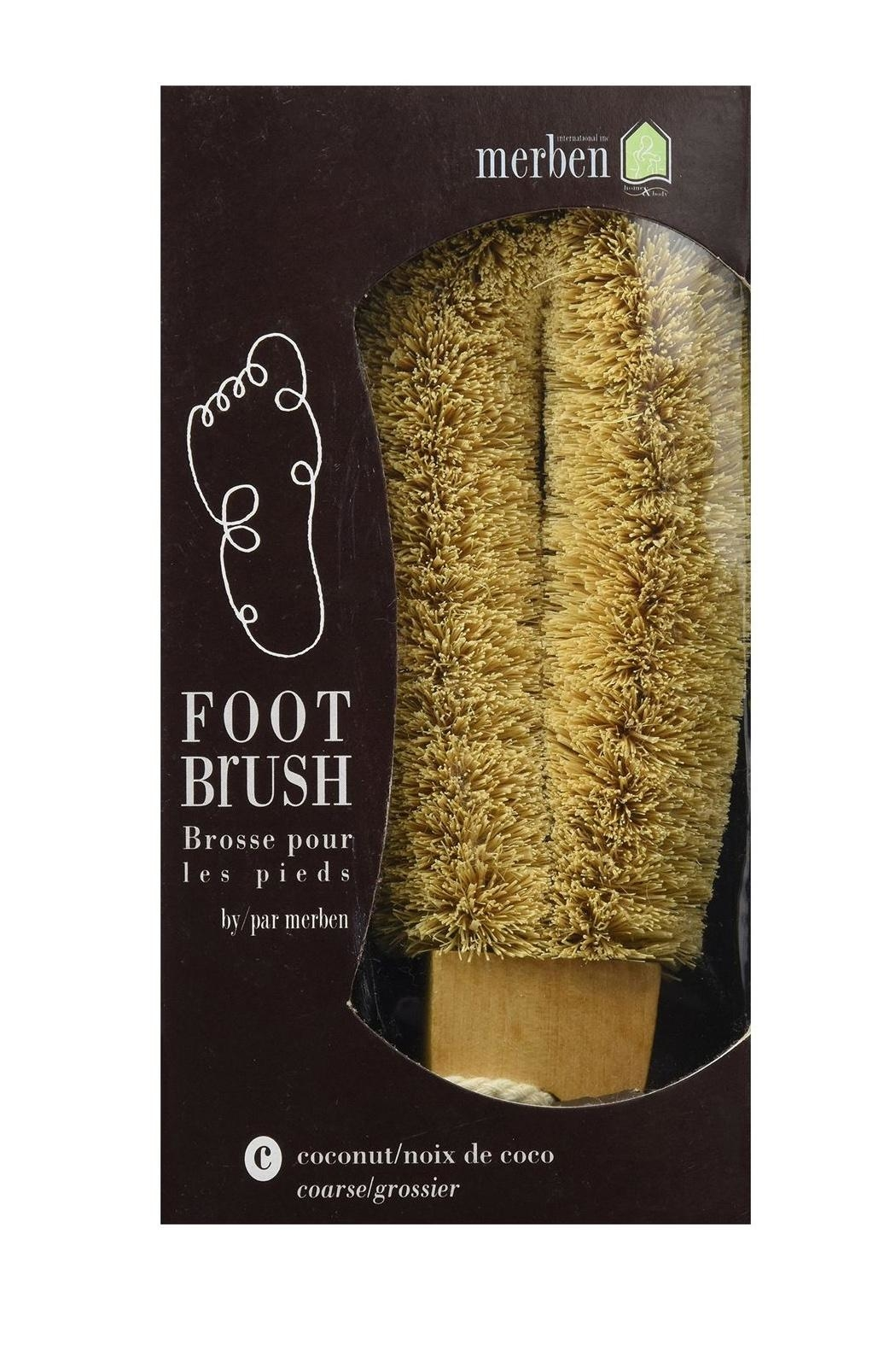 Merben Coconut Foot Brush - Main Image