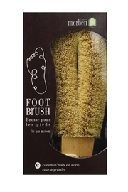 Merben Coconut Foot Brush - Front cropped