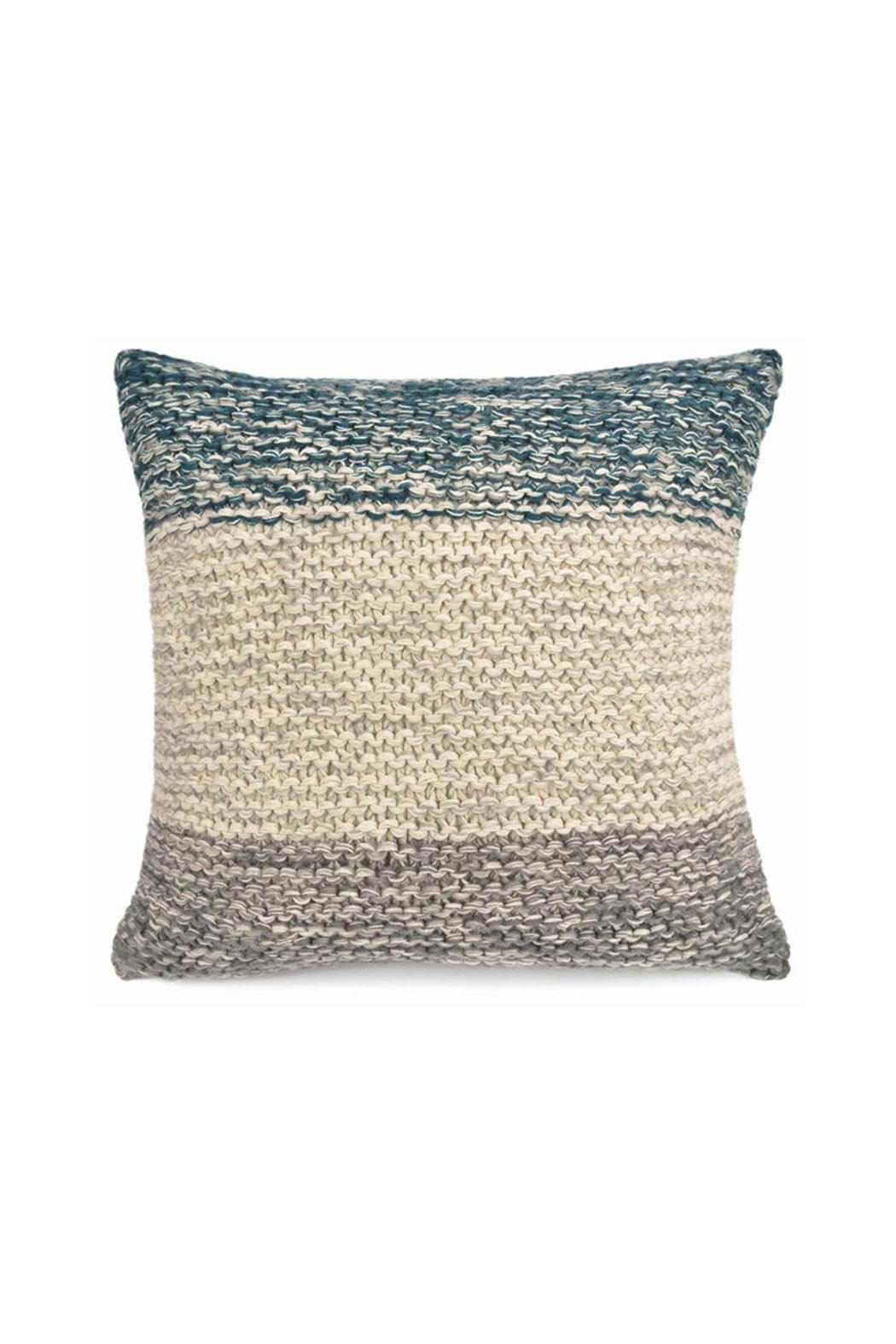 Merben Cotton Stripe Pillow - Main Image
