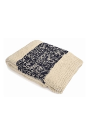 Merben Cotton Stripe Throw - Product Mini Image