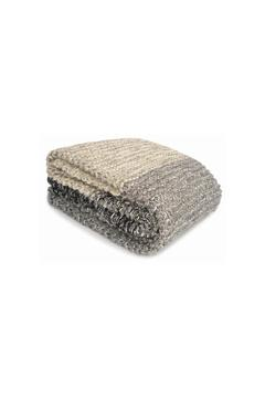 Merben Grey Black Striped Throw - Product List Image
