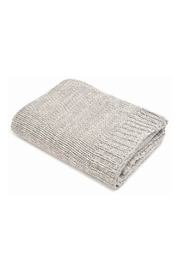 Merben Knit Cotton Throw - Front cropped