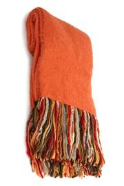 Merben Mohair Fringe Throw - Product Mini Image