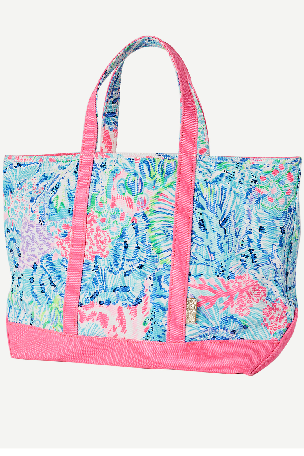 Lilly Pulitzer Mercato Tote - Front Cropped Image