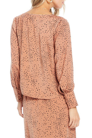 Saltwater Luxe Mercy Button Front Blouse - Side cropped